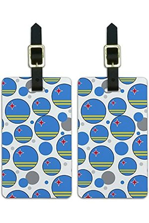 Graphics and More Reisetaschen - Graphics & More c-Aruba Nationalflagge - Luggage.Tags.09530