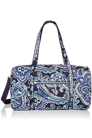 Vera Bradley Damen Reisetaschen - Damen Reisetasche aus Baumwolle, flach, (Deep Night Paisley)