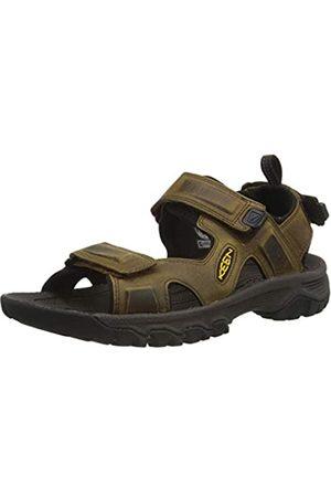 Keen Targhee 3 Herren Sandalen mit offenem Zehenbereich, zum Wandern, Sport, Bison/Mulch
