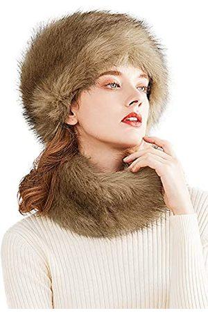 Lovful Kunstpelz Damen Russischer Kosaken-Stil Hut
