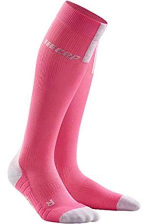 CEP Unisex-Adult Compression Socken, 3.0-Rose/Light Grey
