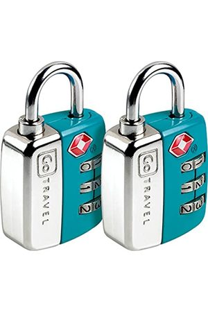 Design go Twin Travel Sentry Lock Blue