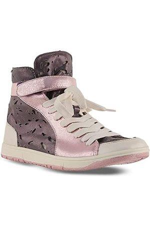 BC Footwear Damen Halbschuhe - Damen Demolition Derby Hi-Top Sneaker