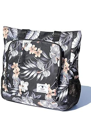 ESVAN Reisetaschen - Große Reisetasche, wasserabweisend, Schultertasche, leicht, für Männer und Frauen, Unisex, Weiß ( Blumenblatt)