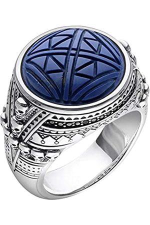 Thomas Sabo Herren Ringe - Herren-Ringe 925_Sterling_Silber mit '- Ringgröße 54 TR2204-534-1-54