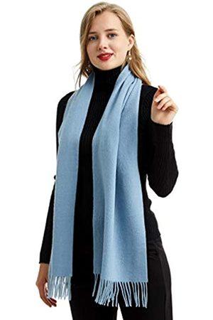 MARUYAMA Damen Schals - Kaschmir-Schal, 100 % reines Kaschmir, hochwertige Verarbeitung, wunderschön und natürlich, lange Größe 180 x 30 cm