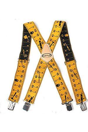 Melo Work Gear Herren Hosenträger - Herren-Hosenträger, 5,1 cm breit, verstellbare und elastische Hosenträger