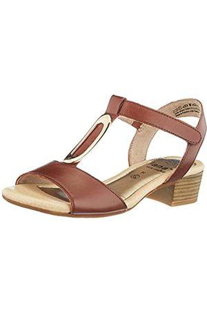Jana 100% comfort Damen Sandalen - Damen 8-8-28322-26 Sandale mit Absatz