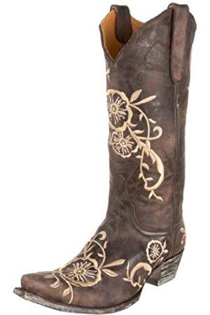 Old Gringo Damen Stiefel - Tyler L585-1 Damen-Stiefel, Braun (schokoladenbraun)
