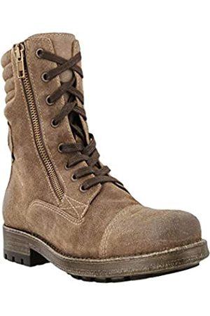 Taos Damen Stiefel - Frauen Renegade Cap Toe Leder Combat Stiefel Groesse 6 US /37 EU
