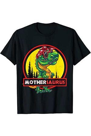 Wowsome! Damen T-Shirts, Polos & Longsleeves - Mothersaurus Shirt T rex Mother Saurus Dinosaur Womens T-Shirt