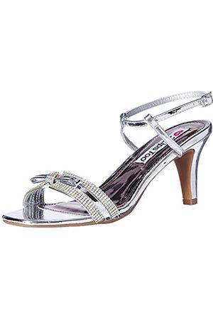 2 Lips Too Damen Uhren - Women's Too Endless 13 Dress Pump, Silver