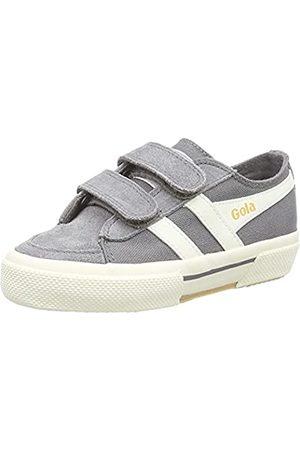 Gola Super Quarter Velcro Sneaker, Ash/Off White