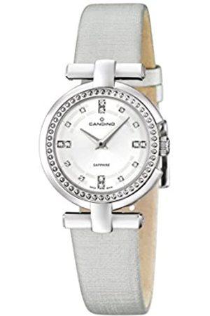 Candino Damen Uhren - Damen Analog Quarz Uhr mit Leder Armband C4560/1