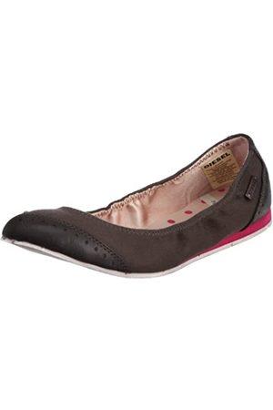 Diesel Damen Ballerinas - Y00164PS441T2149, Damen Ballerinas, (rubinrot), 39