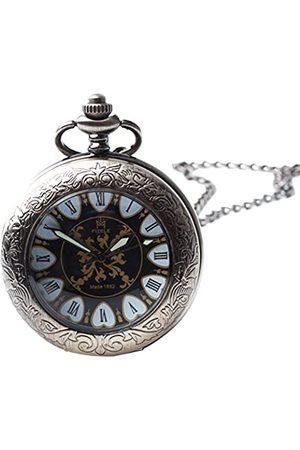 Sparks of Time Herren Uhren - SparksofTimeUnisexErwachsene-TaschenuhrAnalogMechanik129
