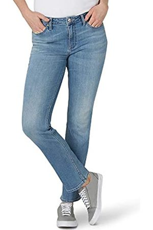 Lee Damen Straight - Damen Regular Fit Straight Leg Jeans