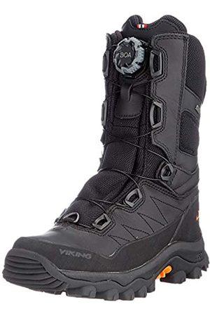 Viking Damen Schuhe - Unisex-Erwachsene Villrein II Boa GTX Walking-Schuh, Black/Rust