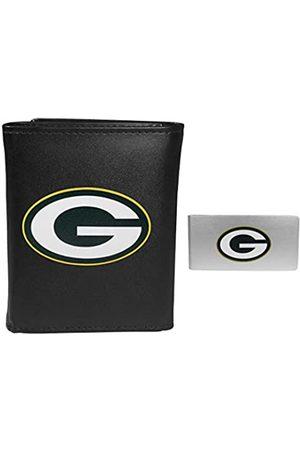 Siskiyou Sports NFL Green Bay Packers Herren Geldbörse, dreifach faltbar, mit Geldclip