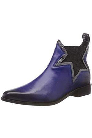 Melvin & Hamilton Damen Marlin 20 Chelsea Boots, (Crust/Fermount/Saphire (1,3) / Steel (2,4) /Ela Glitter Black/LS Blk)