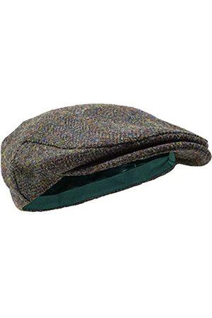 Borges & Scott Herren Hüte - Nevis Schirmmütze – Schiebermütze aus 100% handgewebter Wolle - Harris Tweed - wasserabweisend - 62cm
