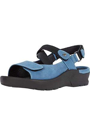 Wolky Damen Sandalen - Lisse Damen Comfort Sandalen, (Baltic Blue)