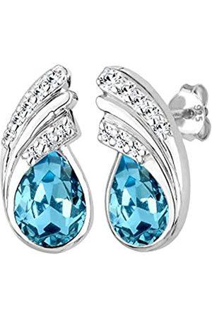 Elli Damen Ohrringe - Ohrringe Damen Tropfen mit Kristalle in 925 Sterling Silber