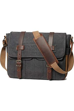 SOAEON Herren Laptop- & Aktentaschen - Messenger Bag für Herren 15