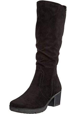 Soft Line Damen Stiefel - Damen 25662-21 Hohe Stiefel, (Black 001)