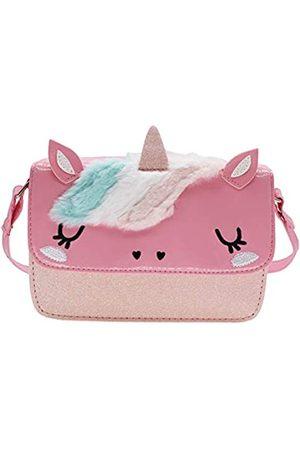 Newfancy Mädchen Umhängetaschen - Cartton Kinder Mädchen Kleinkind Handtasche mit Pailletten, Pink (rose)