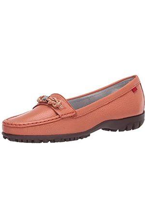Marc Joseph New York Damen Leder Made in Brazil Orchard Street Golf Schuh, Pink (Lachs Trommelkörner)