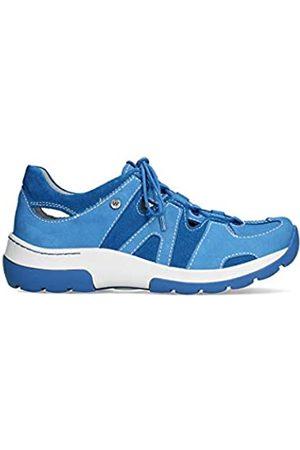 Wolky Damen Schuhe - Nortec Damen Komfortschuh, Blau (königsblau)