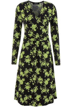 Aniston Jerseykleid mit Ausschnitt in Wickel-Optik - NEUE KOLLEKTION