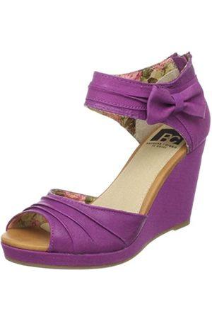 BC Footwear Damenuhr Großvater, Violett (Orchidee)