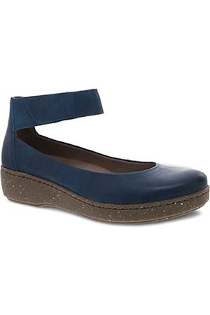 Dansko Damen Ballerinas - Damen Emmie Mary Jane, Blau (blaugrün)