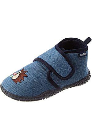 Playshoes Kinder schuhe mit praktischem Klettverschluss,Blau (jeansblau 3)