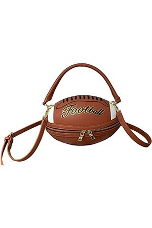 Weilan Fußballförmige Geldbörse für Frauen, Crossbody Handtasche, Mädchen, Kuriertasche, Schultertasche, PU-Leder