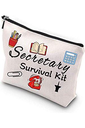 Generic Damen Reisetaschen - WCGXKOSekretär-Survival-KitSekretärgeschenkReisezubehörKulturbeutelMake-up-Tasche