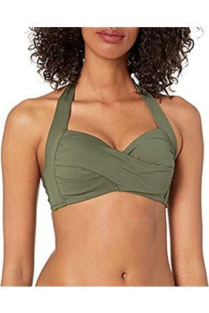 Seafolly Damen Bikinis - Damen Twist Soft Cup Halter Bikini