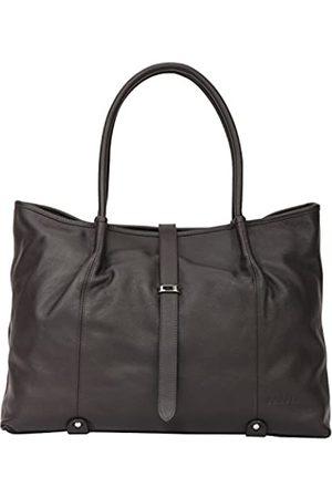 Banuce Damen Umhängetaschen - Lederhandtaschen für Frauen Geldbörse Schultertasche Tote Bag, Braun (Stil 19)
