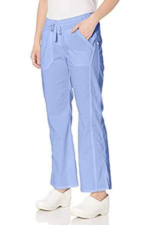 Dickies Damen Stretchhosen - Damen EDS Signature Stretch Low Rise Straight Leg Kordelzug Hose Petite - Blau - XX-Large