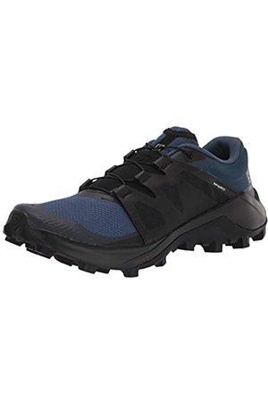 Salomon Herren Wildcross Trail Running Schuh, (Dark Denim/Black/Navy Blazer)