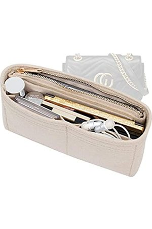 OAikor Purse Organizer Insert Felt Bags with YKK Zipper Handbag Tote Shaper Insert for GG Marmont Mini Matelasse Shoulder Bag (Miniature