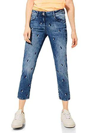 CECIL Damen Cropped - Damen Charlize Jeans