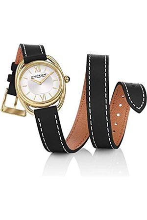Saint Honore Damen Uhren - SaintHonoréDamenAnalogQuarzUhrmitLederArmband7215263AIT-BL