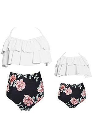 Vizakiss Damen Bikinis - Damen-Bikini-Set mit Blumenmuster