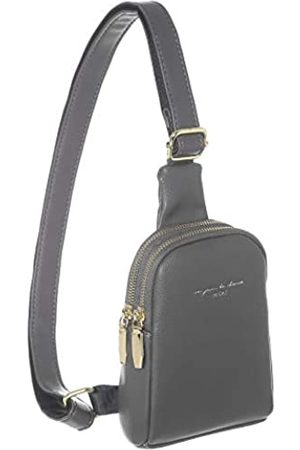 INICAT Mädchen Umhängetaschen - Small Crossbody Sling Bags Faux Leather Cell Phone Purse for Women Teen Girls(Gray)