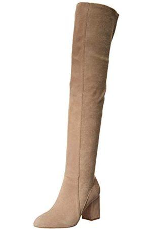 Splendid Damen Overknees - Damen Overknee-Stiefel Stretch, (taupe)