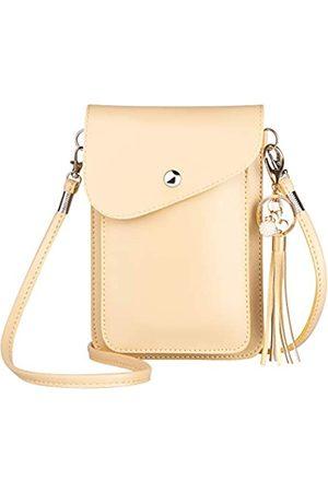 PG6 Damen Reisetaschen - Roomy Pockets Series Kleine Reise-Umhängetasche aus Leder