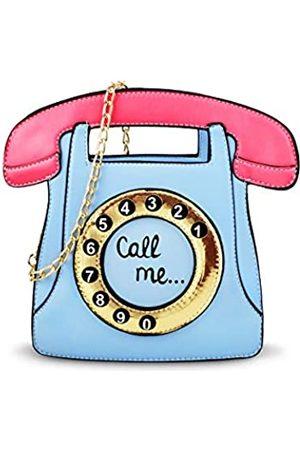 USTYLE Damen Umhängetaschen - Umhängetasche in Telefonform, für Damen und Mädchen, Retro-Stil, Einkaufstasche, Straße, Schule, Münzgeldbörse